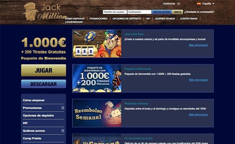 jackmillion promociones