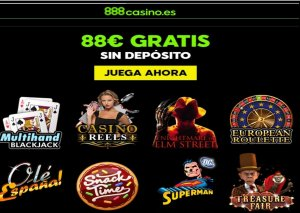 Casino 888 bono promocional por registro