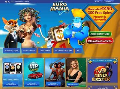 euromania casino juegos