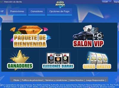 euromania casino promociones