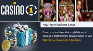 Casino 1 bono de bienvenida hasta por 800 euros