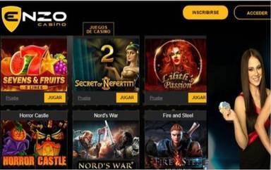 Enzo Casino obsequia hasta 100 euros en giros gratis