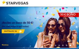 200 euros esperan por primer depósito en Starvegas
