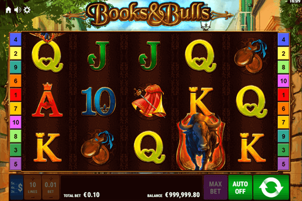 slot Books and Bulls