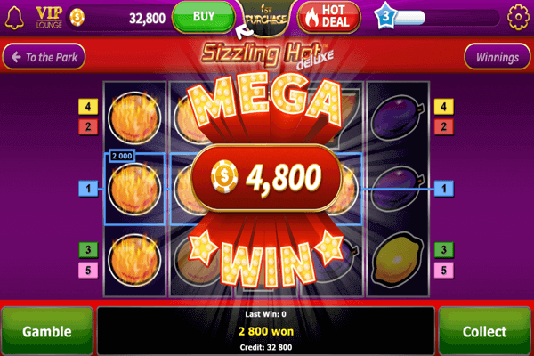 slot Sizzling Hot Deluxe