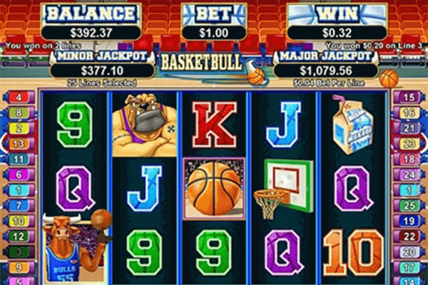 BasketBull tragamonedas