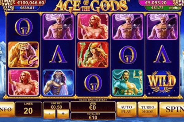 Age of the Gods tragamonedas