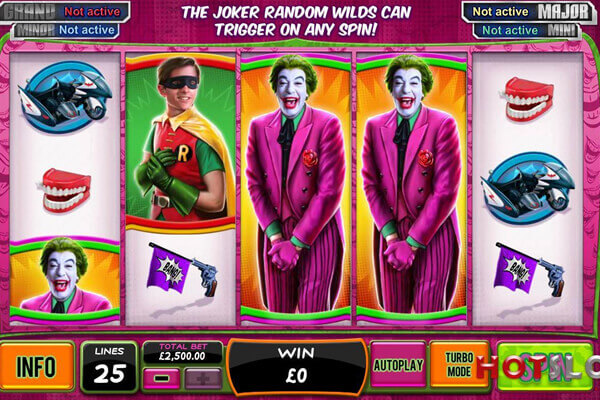 tragaperras Batman y Joker