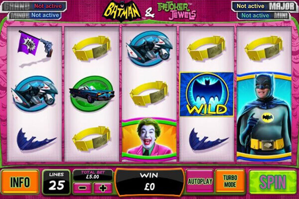 slot Batman y Joker