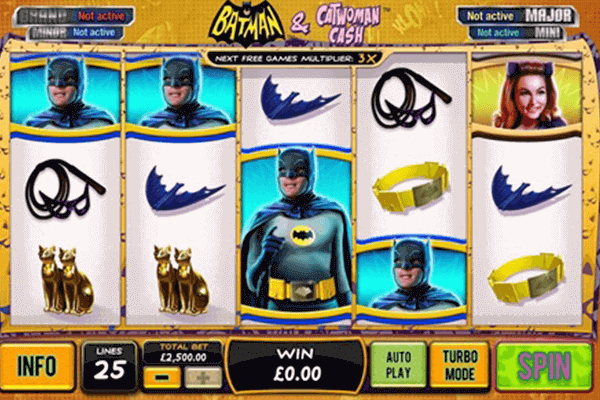tragaperras Batman y Catwoman