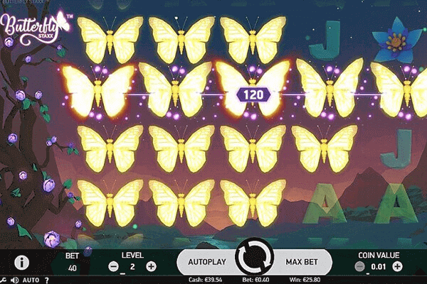 tragaperras Butterfly