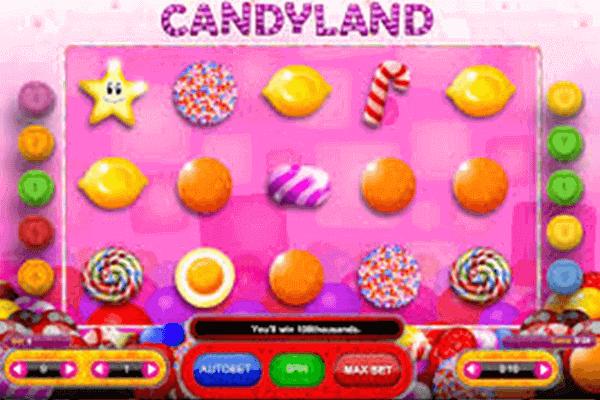 tragaperras Candyland