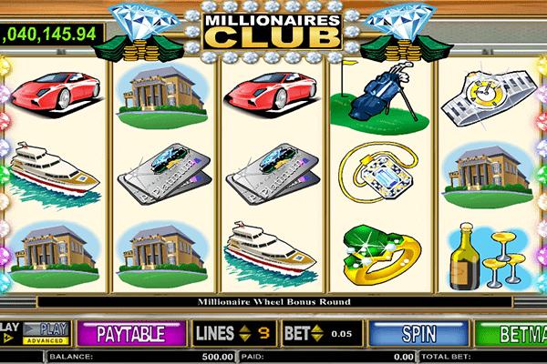 slot Millonaire's Club