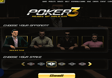 Poker 3 Heads Up