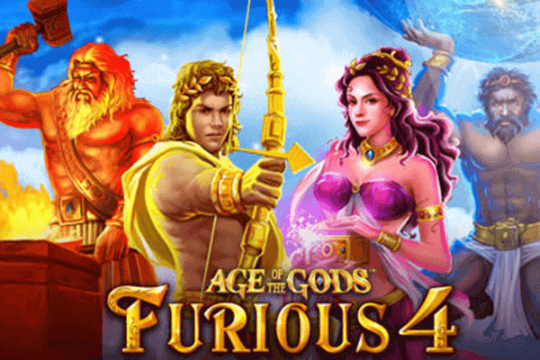 tragaperras Age of the Gods Furious