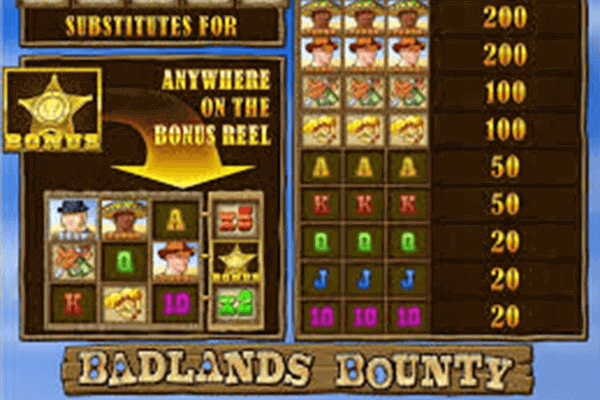 Badlands Bounty tragamonedas