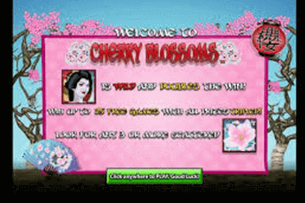 Cherry Blossoms tragamonedas