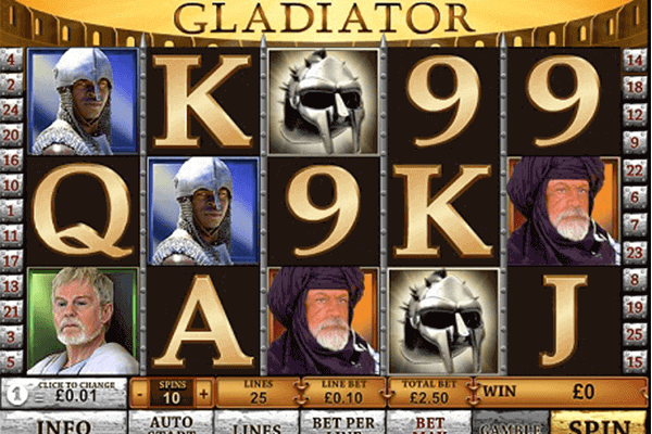 tragaperras Gladiator