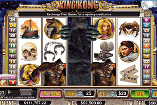 King Kong tragamonedas
