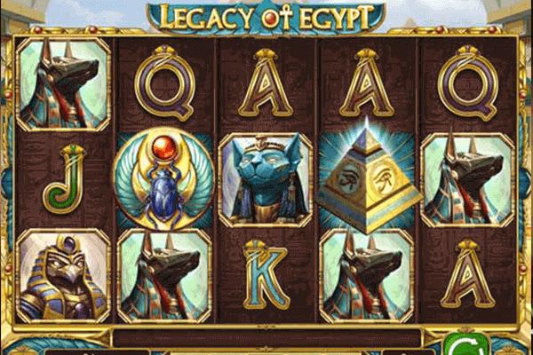 Legacy of Egypt tragamonedas