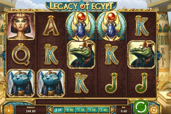 tragaperras Legacy of Egypt