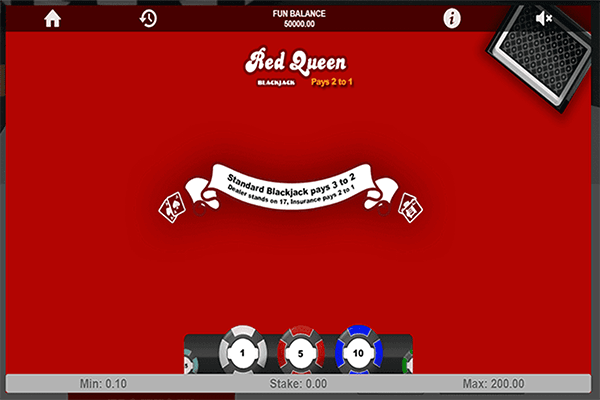 tragaperras Red Queen Blackjack
