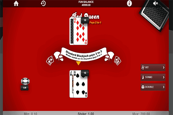 slot Red Queen Blackjack