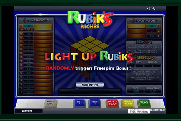 tragaperras Rubik