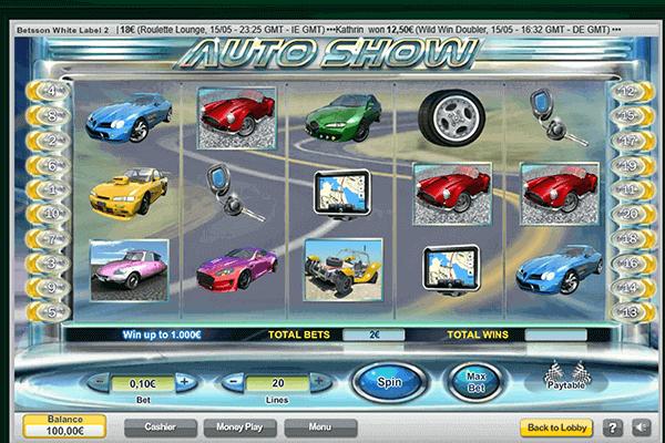 tragaperras Auto Show