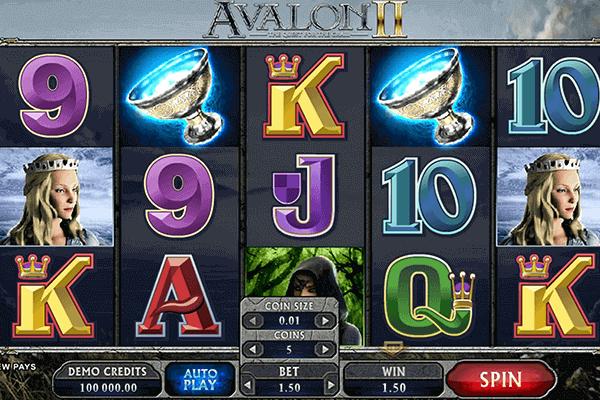 tragaperras Avalon II
