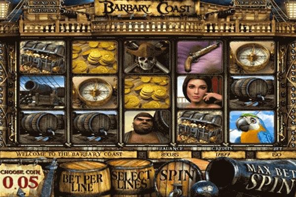 Barbary Coast tragamonedas