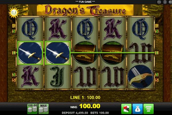 Dragon's Treasure tragamonedas