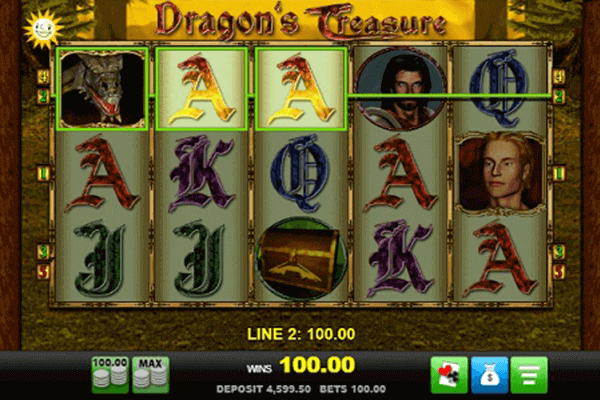 tragaperras Dragon's Treasure