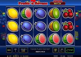 tragaperras Fruits N Sevens