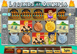 Legends Of Olympia tragamonedas