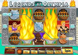 tragaperras Legends Of Olympia