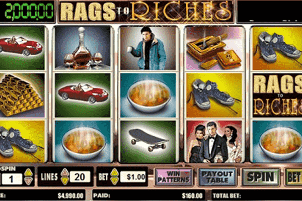tragaperras Rags To Rich
