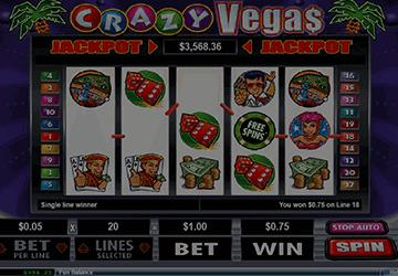 slot Crazy Vegas