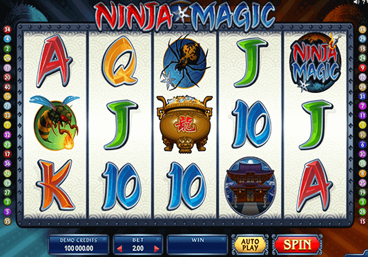 slot Ninja Magic