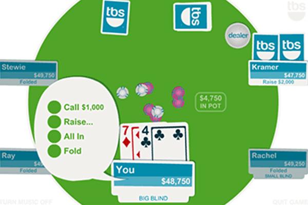 jugar Texas Hold'Em de Evolution