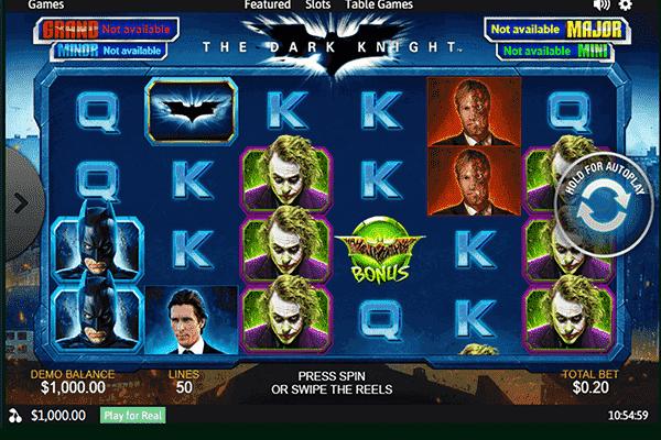 tragaperras The Dark Knight