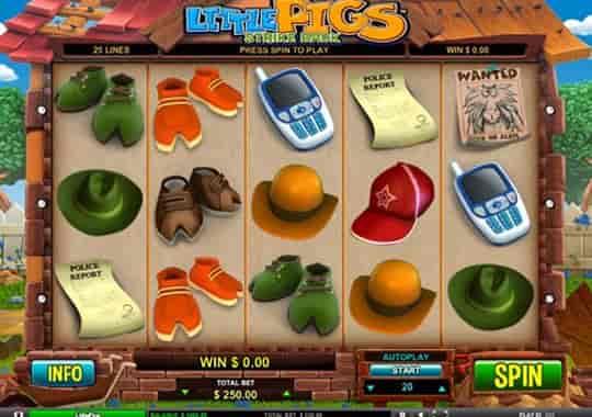 slot Little Pigs Strike Back
