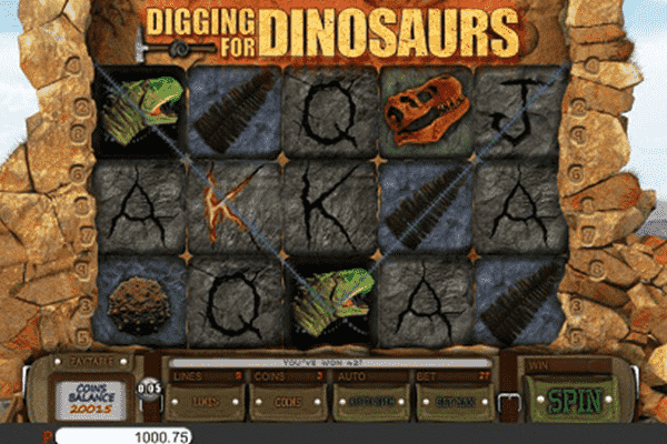 Digging for Dinosaurs tragamonedas