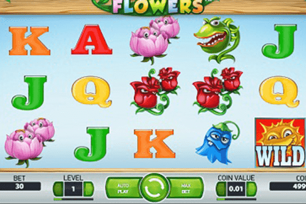Flowers tragamonedas