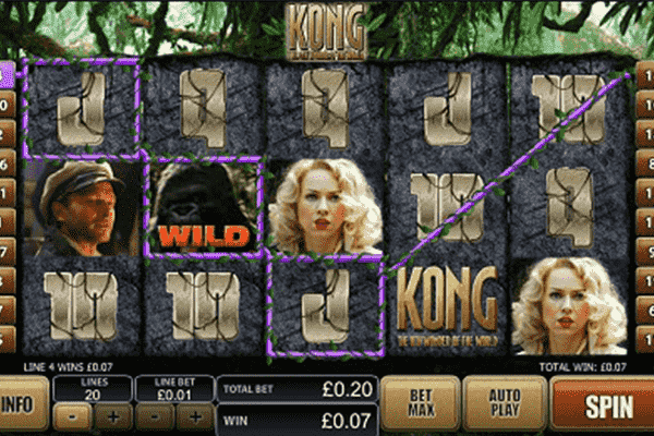 Kong tragamonedas
