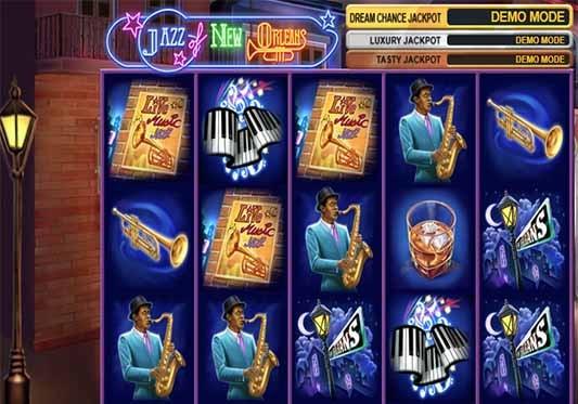 slot Jazz de Nueva Orleans
