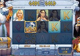 Gods of Golds tragamonedas