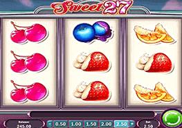 tragaperras Sweet 27