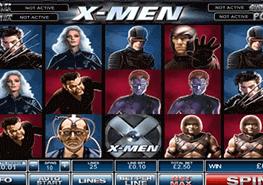 tragaperras X-Men
