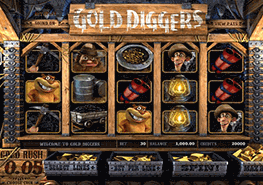 tragaperras Gold Diggers